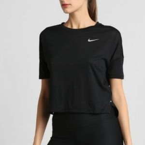 NWT Nike Dri-Fit running cropped top